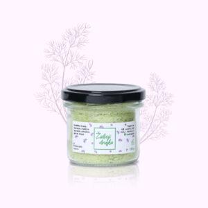 Žalioji druska, prieskonių mišinys su lietuviškomis žolelėmis